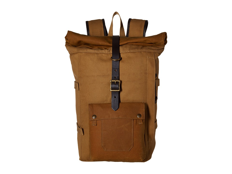 Filson - Roll Top Backpack (Tan) Backpack Bags