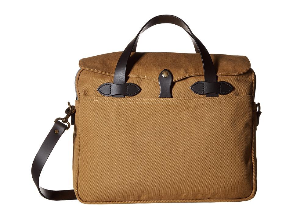 Filson Original Briefcase (Tan 1) Briefcase Bags