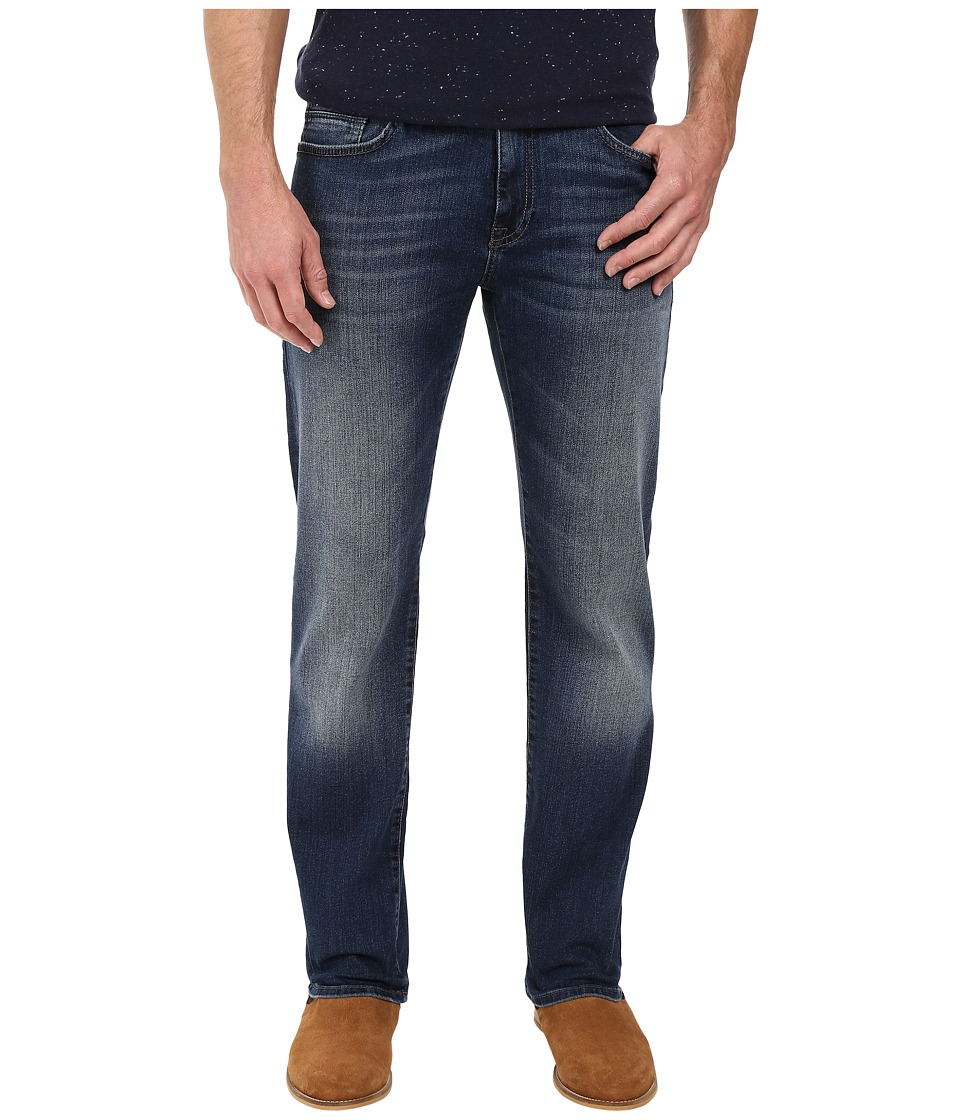 Mavi Jeans Zach Classic Straight Leg in Mid Used Williamsburg (Mid Used Williamsburg) Men