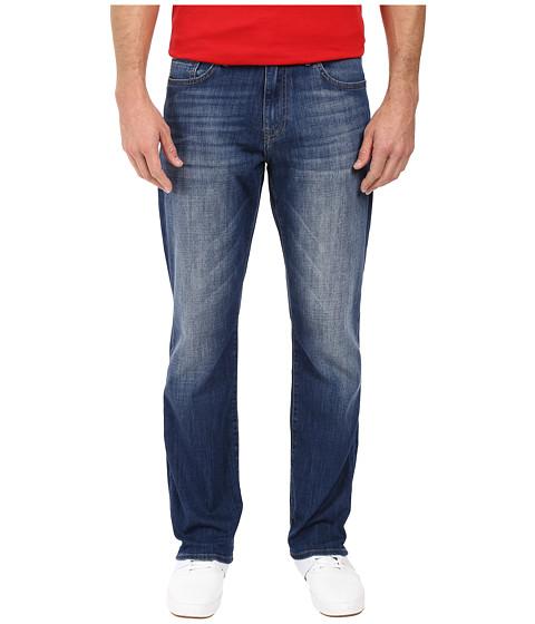 Mavi Jeans Matt Mid-Rise Relaxed Straight Leg in Mid Used Portland