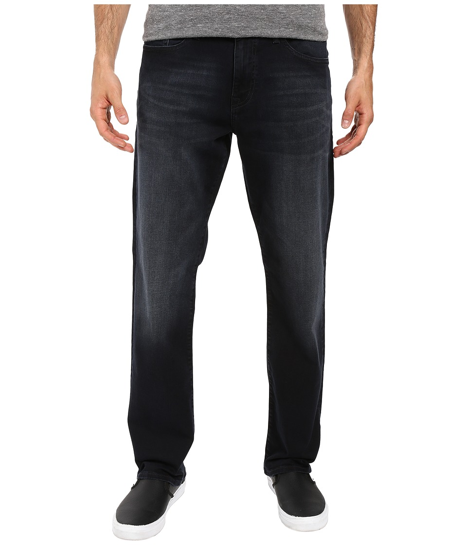Mavi Jeans - Myles Casual Straight in Ink Brushed Williamsburg