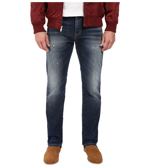 Mavi Jeans Zach Classic Straight Leg in Dark Used Authentic Vintage