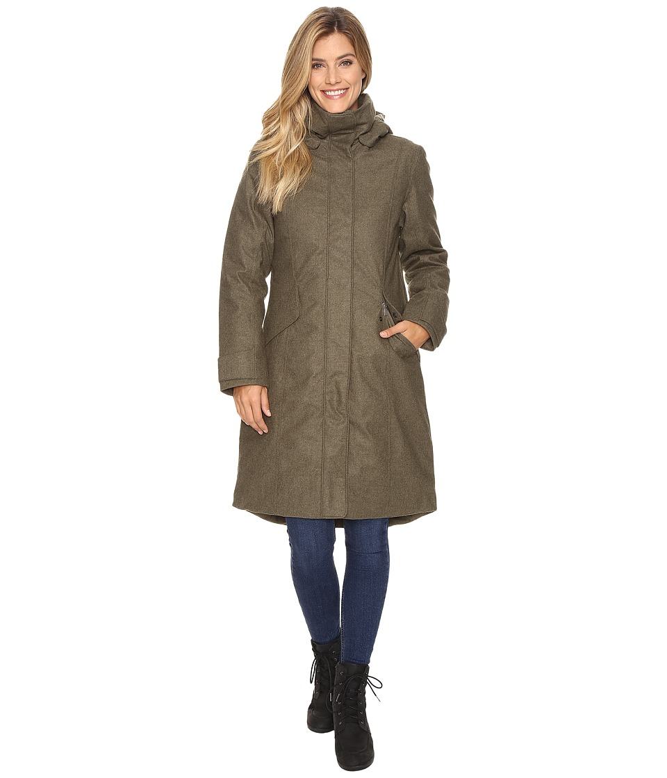 NAU Prato Wool Down Trench (Surplus Heather) Women