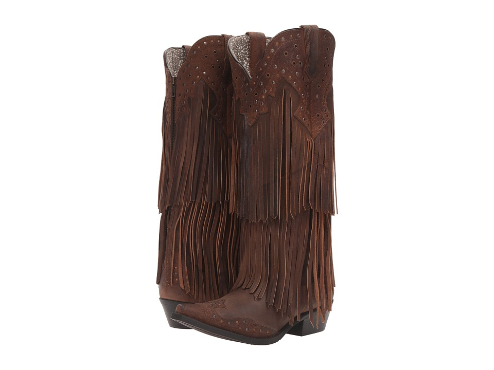Laredo - Nmotion (Brown) Cowboy Boots
