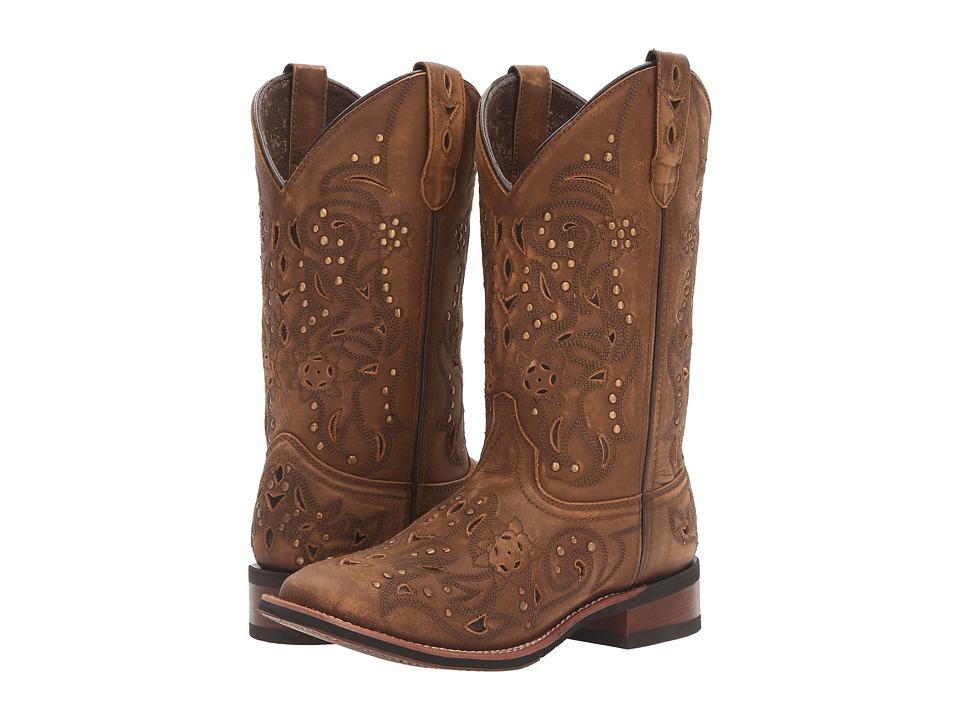 Laredo - Janie (Tan) Cowboy Boots