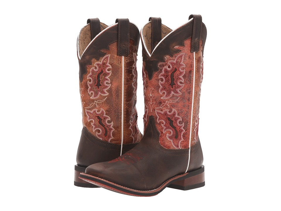 Laredo Isla (Brown/Red) Cowboy Boots