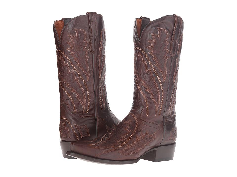 Dan Post Trice (Chocolate) Cowboy Boots