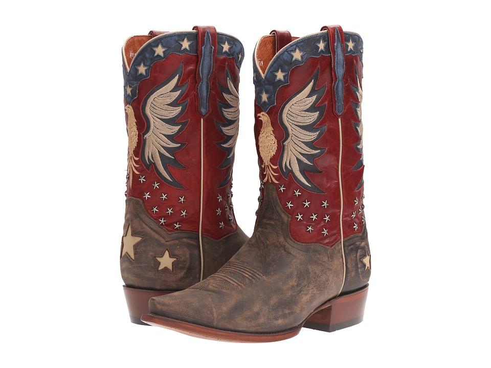 Dan Post Bountiful (Bay Apache/Red) Cowboy Boots
