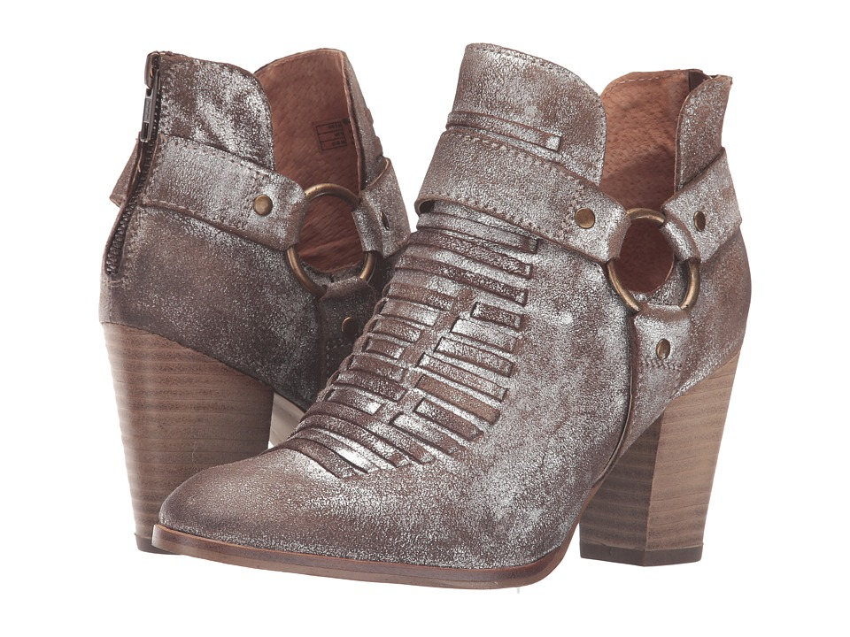 Ariat - Unbridled Jaelle (Metallic Suede) Cowboy Boots