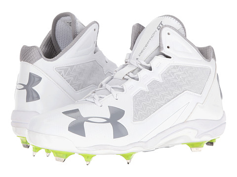 Under Armour UA Deception Mid DT - White/White