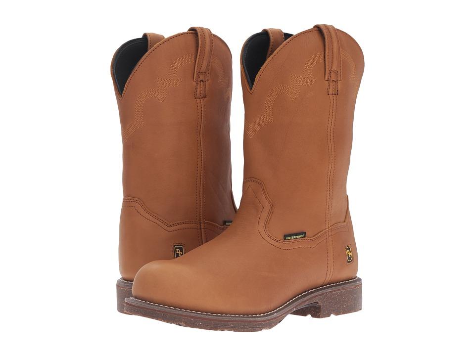 Dan Post Lawton Steel Toe (Honey) Cowboy Boots