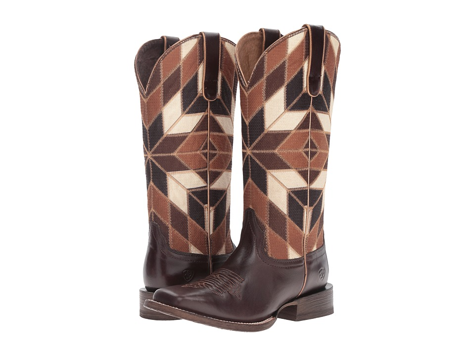 Ariat Mirada (Bittersweet Chocolate/Shades of Brown) Cowboy Boots
