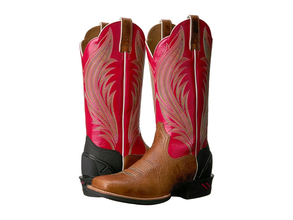 Ariat Catalyst Prime (Gingersnap/Calypso Coral) Cowboy Boots