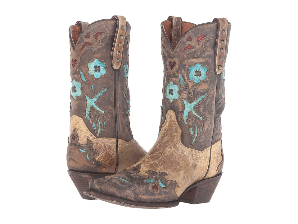 Dan Post Vintage Bluebird (Tan) Cowboy Boots