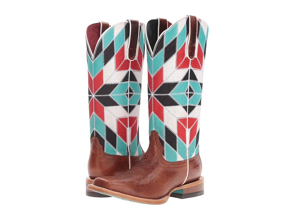 Ariat Mirada (Caliche/Shades of Color) Cowboy Boots