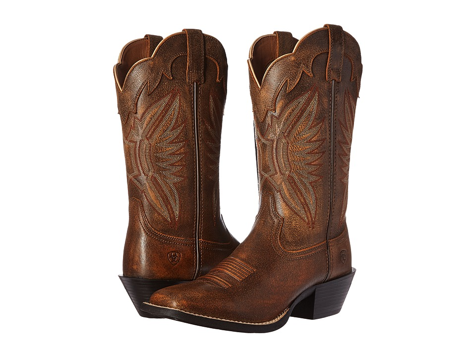 Ariat Round Up Outfitter (Vintage Bomber) Cowboy Boots