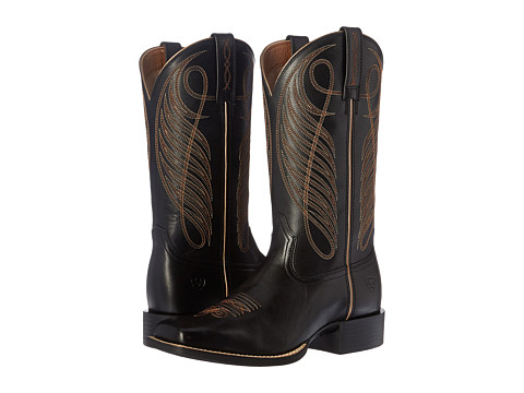 Ariat Round Up Wide Square - Limousin Black