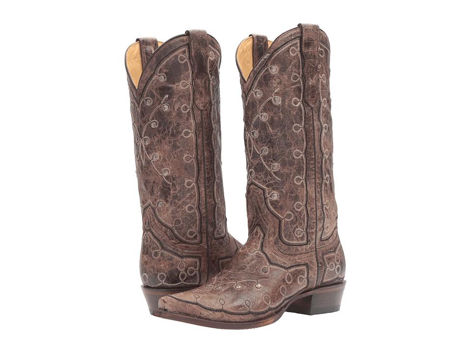 Stetson - Pita (Brown) Cowboy Boots