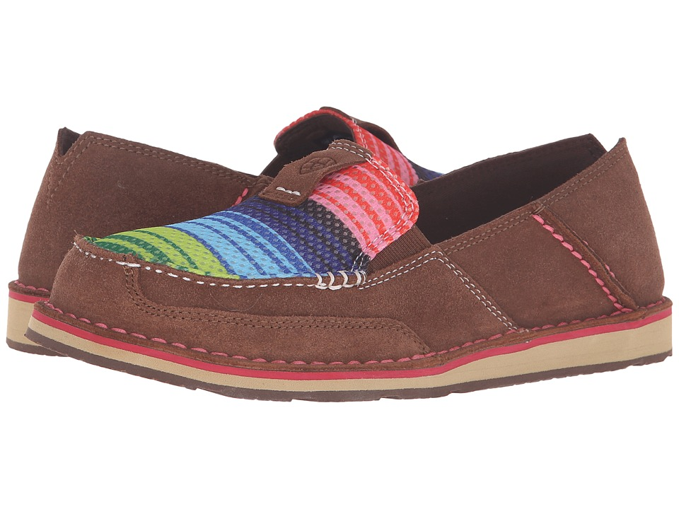 Ariat Cruiser (Palm Brown/Serape Mesh) Slip-On Shoes