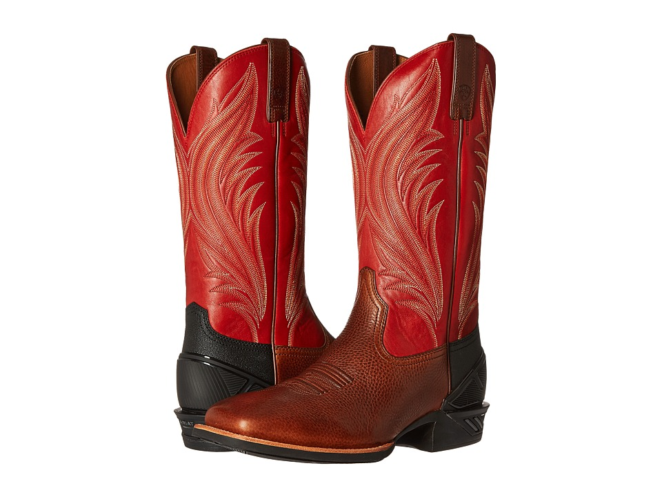Ariat Catalyst Prime (Adobe Mocha/Bruschetta) Cowboy Boots