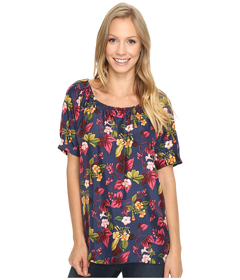 Tommy Bahama Charo Blossoms Peasant Top