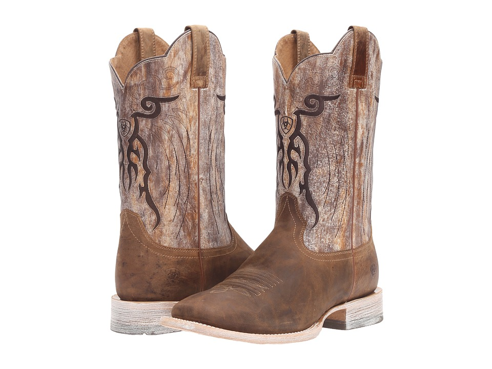 Ariat - Mesteno (Dust Devil Tan/Marble) Cowboy Boots