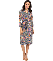 Tommy Bahama - Mosaic Relief 3/4 Sleeve Dress