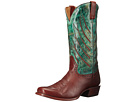 Stetson Wing Tips (Brown/Turquoise)