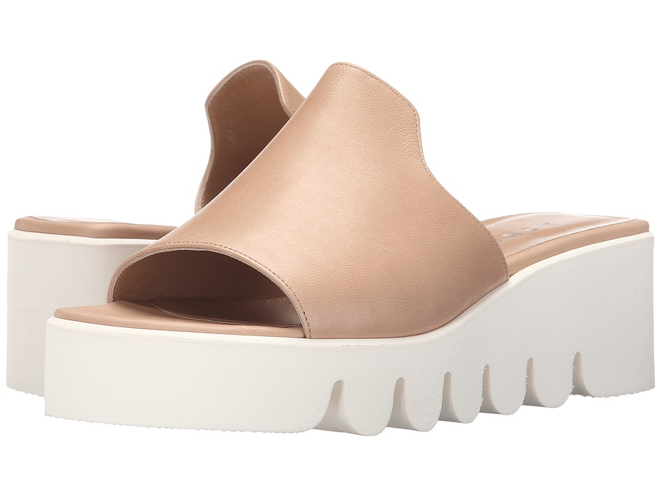 ASKA Hadley Putty Tumbled Womens Sandals