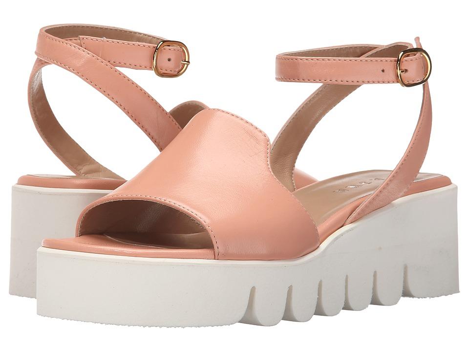 ASKA Helen Blush Smooth Womens Sandals
