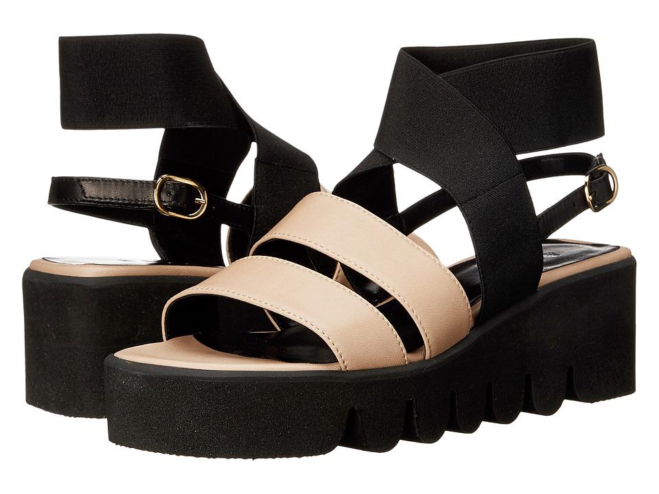 ASKA Harper Black/Putty Womens Sandals