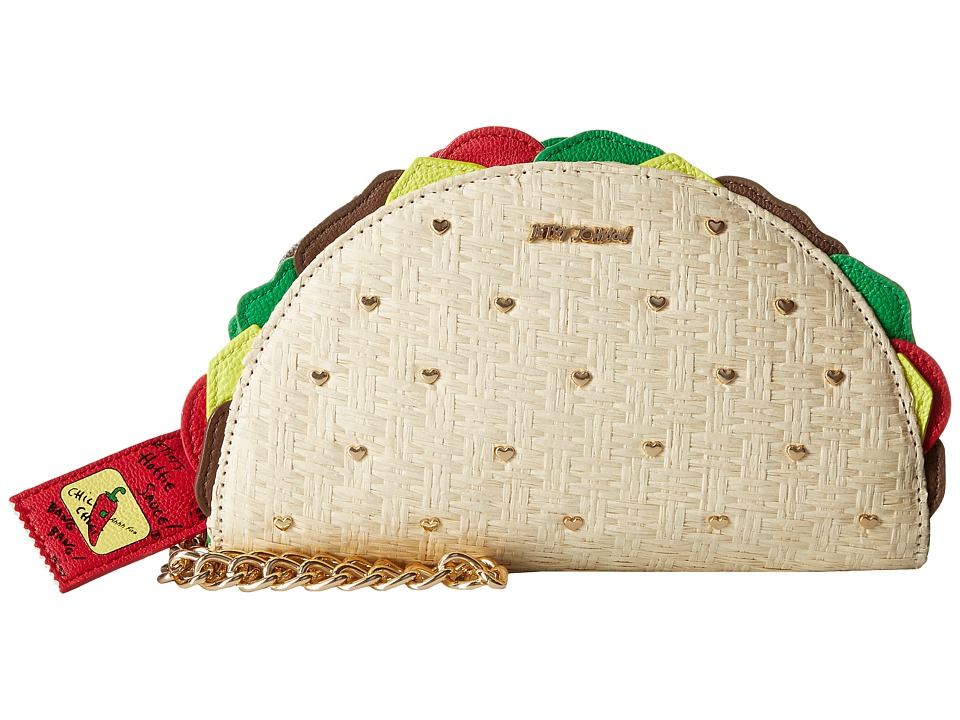 Betsey Johnson - Kitsch Taco Wristlet (Natural) Wristlet Handbags