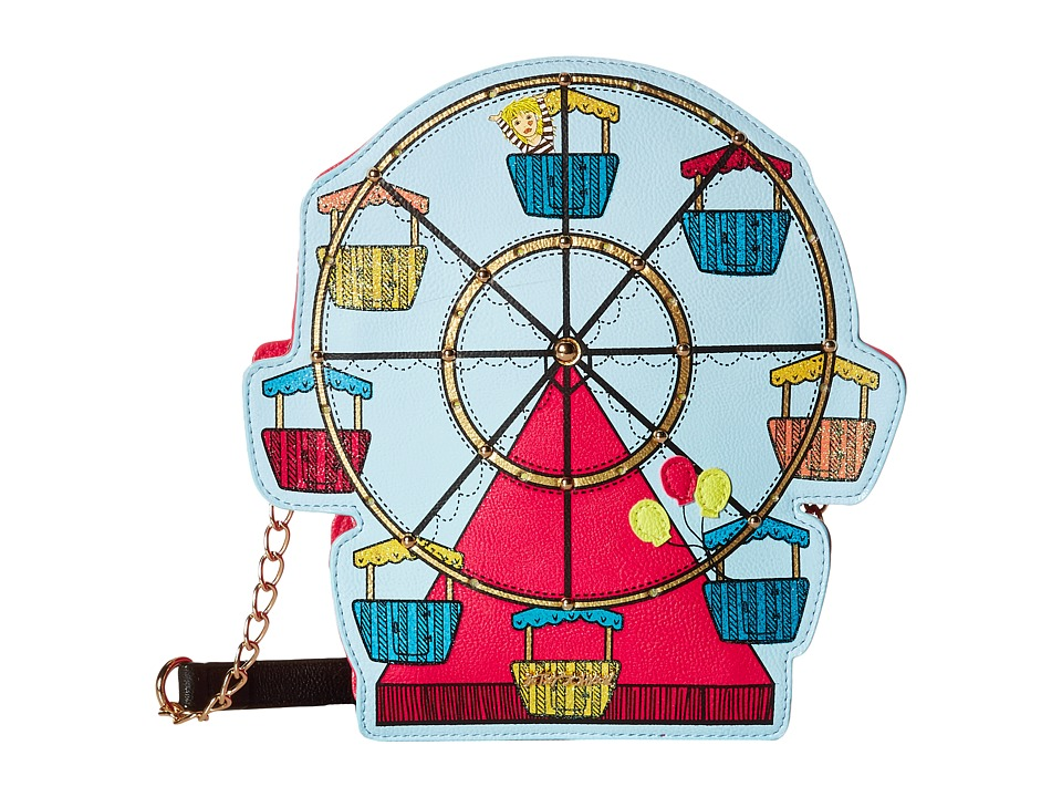 Betsey Johnson - Kitsch Ferris Wheel Crossbody (Multi) Cross Body Handbags