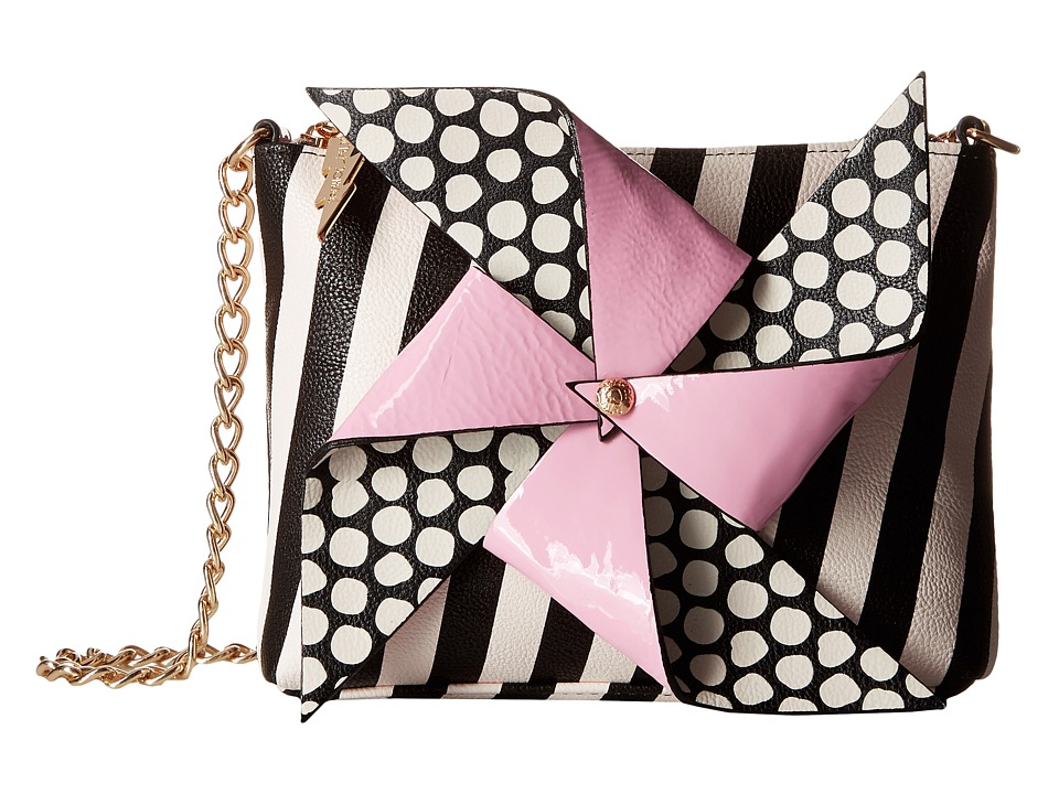 Betsey Johnson - Pinwheel Crossbody (Stripe) Cross Body Handbags