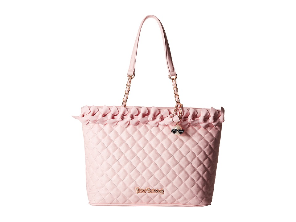 Betsey Johnson - Family Ties Tote (Blush) Tote Handbags
