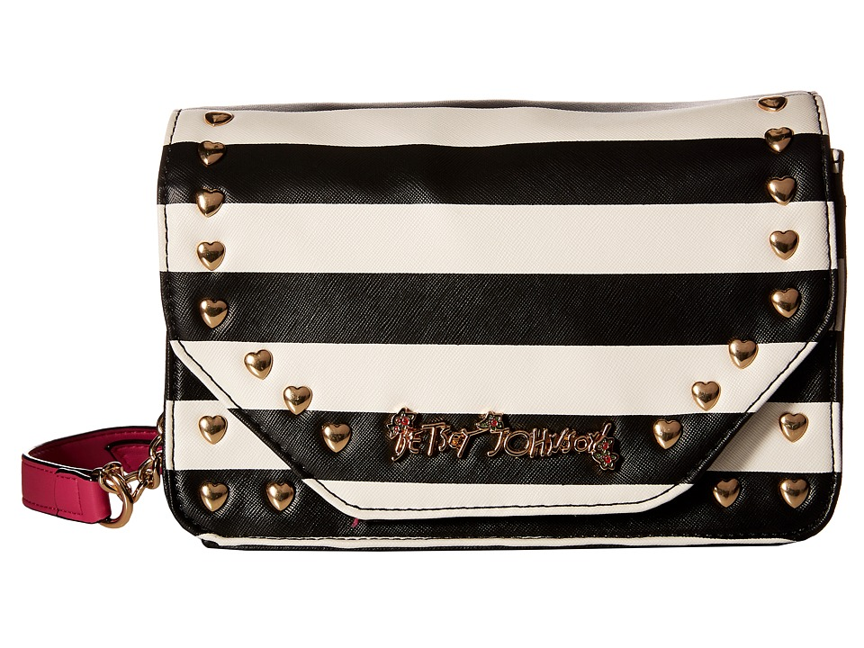 Betsey Johnson - Crossbow Crossbody (Stripe) Cross Body Handbags