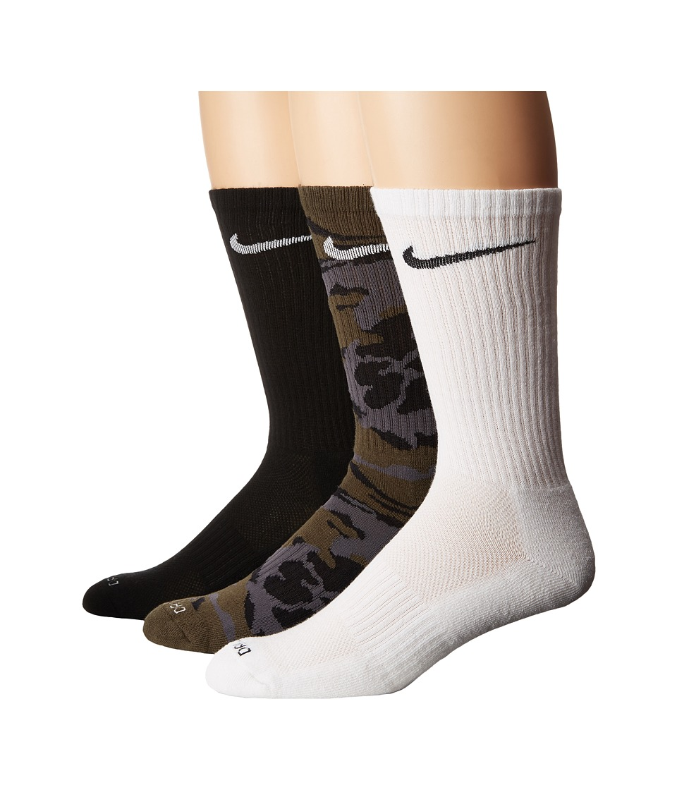 Nike - Lightweight Warmth Sock (Cool Grey/Wolf Grey/Black) Men's Crew Cut Socks Shoes