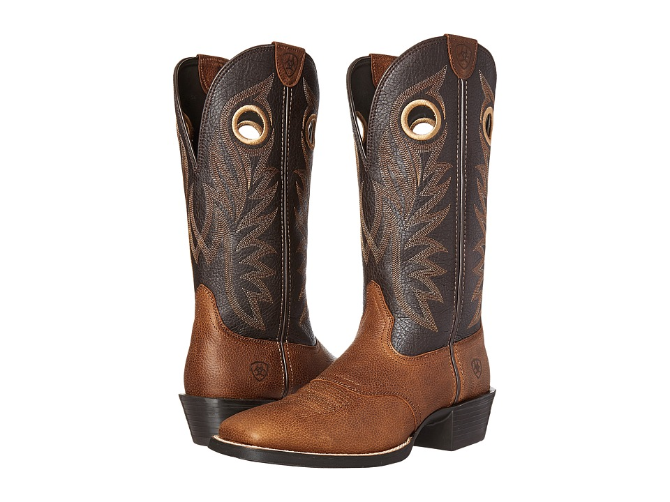 Ariat Sport Outrider (Copper Kettle/Desert Palm) Cowboy Boots