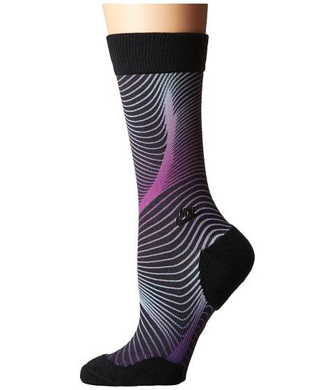 Nike Muscles Crew Sock - Black/Bright Grape/Black