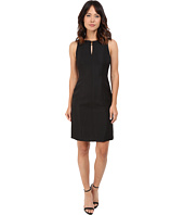 Tahari by ASL - Keyhole Neck Sheath Dress