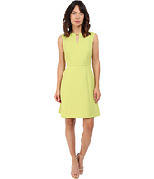 Tahari by ASL - Sleeveless Notch-Neck A-Line Dress