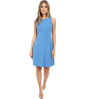 Tahari by ASL - Sleeveless Seamed Bodice A-Line Dress