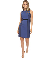 Tahari by ASL - Tonal Color Block Sheath Dress