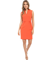 Tahari by ASL - Paper-Bag Waist Pique Sheath Dress