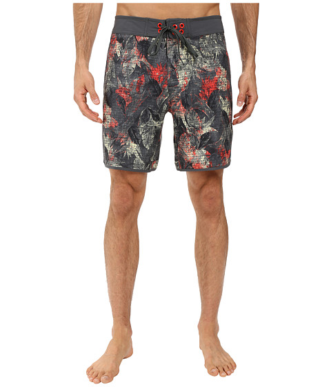 The North Face Whitecap Boardshorts - Short - Spruce Green Pineapple Print