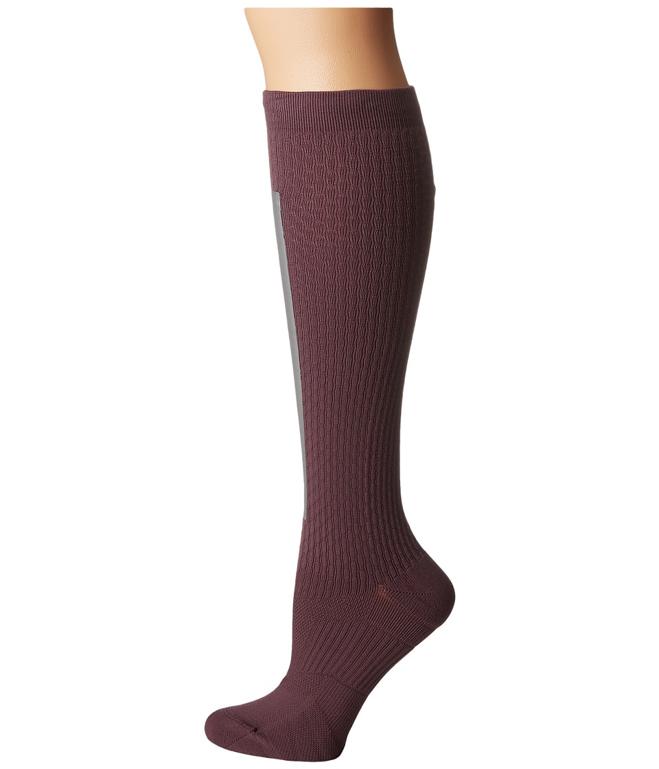 Nike - High Intensity Over the Calf Training Socks (Purple Shade/Metallic Silver/Bleached Lilac) Women's Knee High Socks Shoes