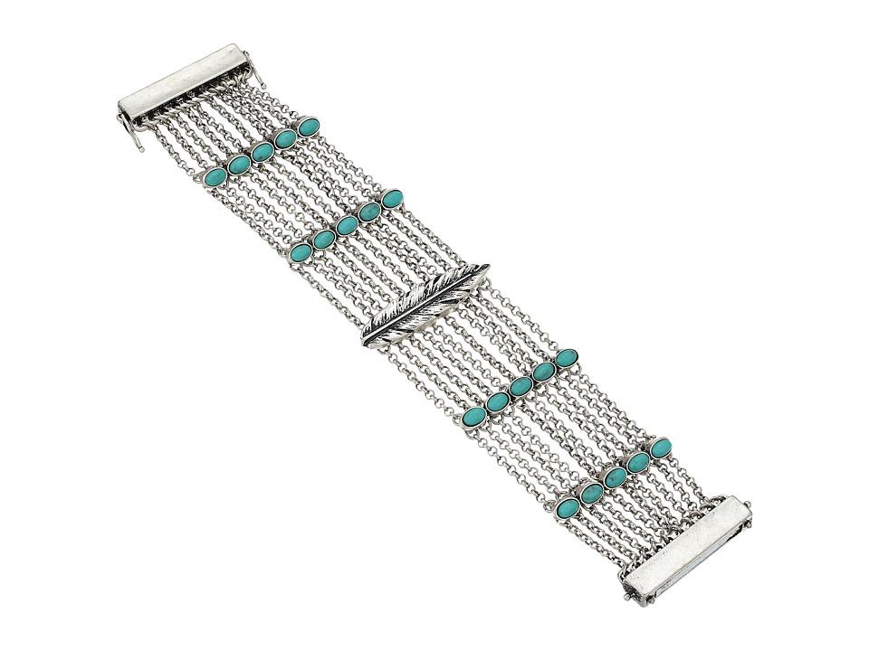 Lucky Brand - Lucky Layers Bracelet (Medium Grey) Bracelet