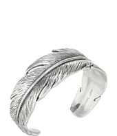 Lucky Brand - Casted Feather Cuff Bracelet
