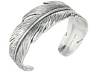 Casted Feather Cuff Bracelet