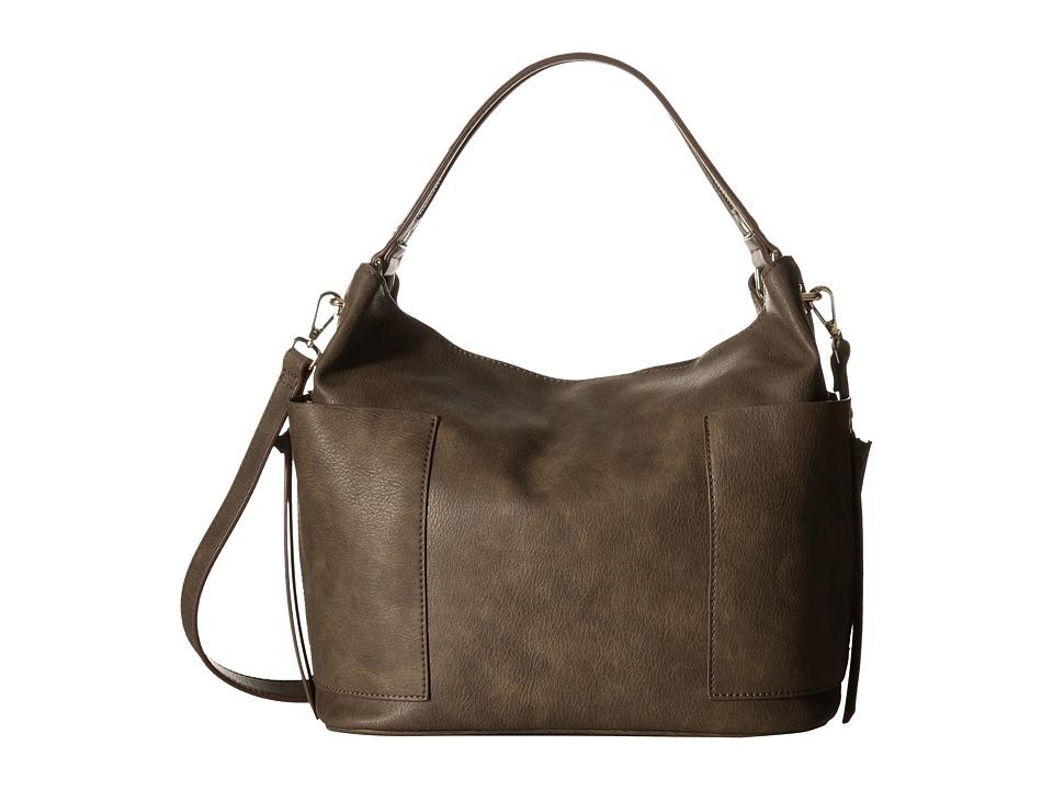 Steve Madden - Bkoltt Hobo (Grey) Hobo Handbags